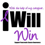 I Will Win Pancreatic Cancer (Caregiver) T-Shirts