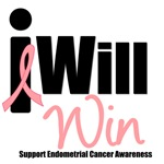 I Will Win (Endometrial Cancer) T-Shirts