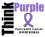 Think Purple Pancreatic Cancer Awareness T-Shirts