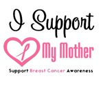 I Support (Mother) Breast Cancer T-Shirts