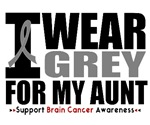 I Wear Grey Aunt Brain Cancer Shirts & Gifts