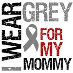 I Wear Grey (Mommy) Brain Cancer T-Shirts
