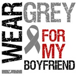 I Wear Grey (Boyfriend) Brain Cancer Shirts