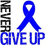 Never Give Up Colon Cancer Awareness Shirts