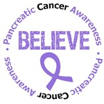 Pancreatic Cancer Believe Shirts & Gifts
