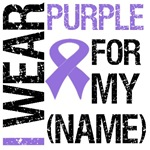 I Wear Purple Ribbon Shirts & Gifts