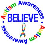 Autism Believe Awareness Shirts & Gifts