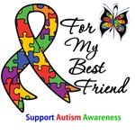 Autism Support Best Friend Shirts & Gifts