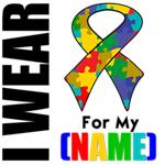 I Wear Autism Ribbon Shirts & Gifts