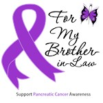 For My Brother-in-Law Pancreatic Cancer T-Shirts &