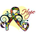Hope Ribbon - Autism