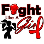 AIDS Fight Like A Girl Pose