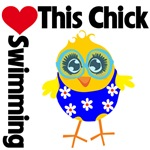 This Chick Loves Swimming