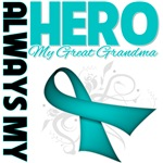 Ovarian Cancer Always My Hero - Great Grandma