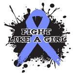 Fight Like A Girl Splatter