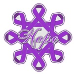 Pancreatic Cancer Hope Ribbons