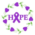 Pancreatic Cancer Hearts of Hope Shirts & Gifts