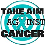 Take Aim Against Ovarian Cancer Shirts & Gifts