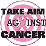 Take Aim Against Breast Cancer Shirts & Gifts
