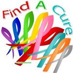 Find A Cure Cancers & Diseases Ribbons Gifts