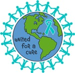 Ovarian Cancer United For A Cure Shirts