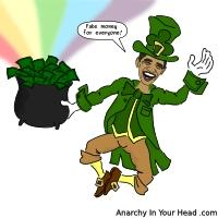 Obama Leprechaun