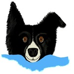 Border Collie Alarm Clock