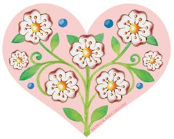 EVERYTHING Pretty Floral Heart