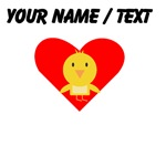 Cartoon Chick Heart