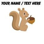 Custom Cartoon Squirrel
