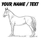 Custom Horse Drawing