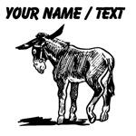 Custom Donkey Sketch