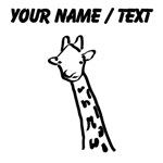 Custom Giraffe Drawing