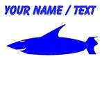 Custom Blue Shark