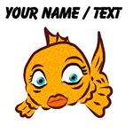 Custom Goldie The Goldfish