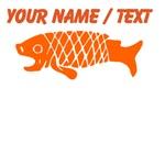Custom Orange Coy Fish