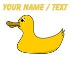 Custom Yellow Duck