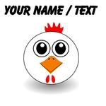 Custom White Hen