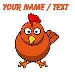 Custom Cartoon Chicken
