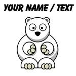 Custom Cartoon Polar Bear