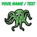 Custom Green Octopus