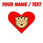 Custom Cheetah Heart