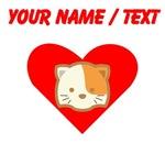 Custom Cat Heart