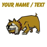Custom Cartoon Bulldog