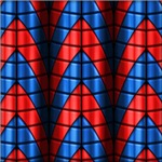 Superheroes - Red and Blue