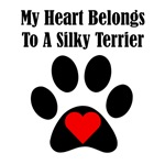 My Heart Belongs To A Silky Terrier