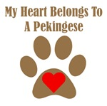 My Heart Belongs To A Pekingese