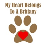 My Heart Belongs To A Brittany