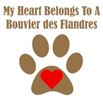 My Heart Belongs To A Bouvier des Flandres