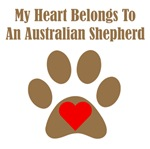 My Heart Belongs To An Australian Shepherd